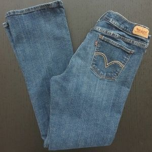 """Levi's 515 Bootcut Jeans 31.5"""" Inseam Mid Rise"""